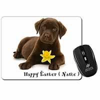 Personalised Name Labrador Computer Mouse Mat Birthday Gift Idea