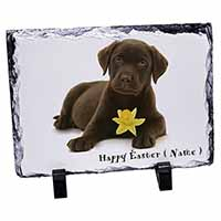 Personalised Name Labrador Photo Slate Christmas Gift Idea