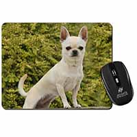 White Chihuahua Dog Computer Mouse Mat Birthday Gift Idea