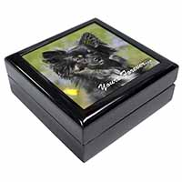 "Black Chihuahua ""Yours Forever..."" Keepsake/Jewel Box Birthday Gift Idea"