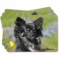 "Black Chihuahua ""Yours Forever..."" Picture Placemats in Gift Box"