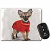 Chihuahua in Dress Computer Mouse Mat Christmas Gift Idea
