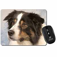 TriCol Border Collie Dog Computer Mouse Mat Christmas Gift Idea