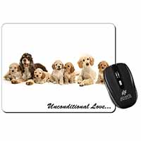 Cockerpoodles-Love- Computer Mouse Mat Birthday Gift Idea