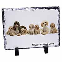 Cockerpoodles-Love- Photo Slate Photo Ornament Gift