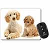 Poodle and Cockerpoo Computer Mouse Mat Christmas Gift Idea