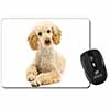 Apricot Poodle Computer Mouse Mat Christmas Gift Idea