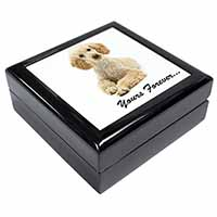 "Apricot Poodle ""Yours Forever..."" Keepsake/Jewel Box Birthday Gift Idea"