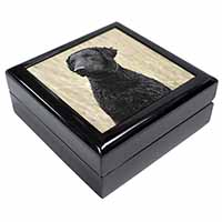 Curly Coat Retriever Dog Keepsake/Jewel Box Birthday Gift Idea