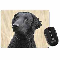 Curly Coat Retriever Dog Computer Mouse Mat Birthday Gift Idea
