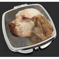 Clumber Spaniel Dog Make-Up Compact Mirror Birthday Gift Idea