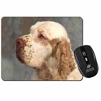 Clumber Spaniel Dog Computer Mouse Mat Birthday Gift Idea