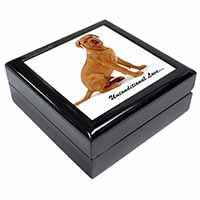 Dogue De Bordeaux-With Love Keepsake/Jewel Box Birthday Gift Idea