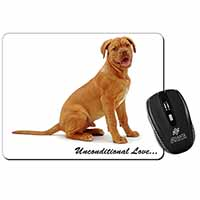 Dogue De Bordeaux-With Love Computer Mouse Mat Birthday Gift Idea