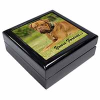 "Dogue De Bordeaux ""Yours Forever..."" Keepsake/Jewellery Box Birthday Gift Idea"