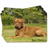 "Dogue De Bordeaux ""Yours Forever..."" Picture Placemats in Gift Box"