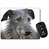 Deerhound Dog Computer Mouse Mat Christmas Gift Idea