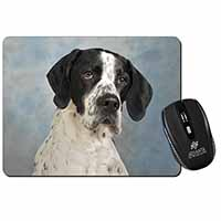 English Pointer Dog Computer Mouse Mat Birthday Gift Idea