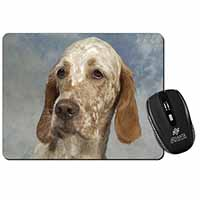 English Setter Computer Mouse Mat Birthday Gift Idea