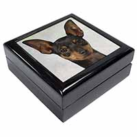 English Toy Terrier Dog Keepsake/Jewel Box Birthday Gift Idea