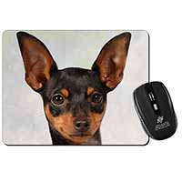 English Toy Terrier Dog Computer Mouse Mat Birthday Gift Idea