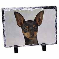 English Toy Terrier Dog Photo Slate Photo Ornament Gift