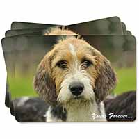"Welsh Fox Terrier Dog ""Yours Forever..."" Picture Placemats in Gift Box"