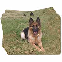 Alsatian/ German Shepherd Dog Picture Placemats in Gift Box