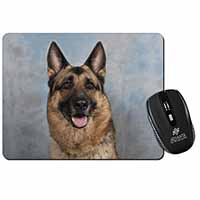 German Shepherd-Alsatian Computer Mouse Mat Birthday Gift Idea