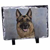 German Shepherd-Alsatian Photo Slate Photo Ornament Gift