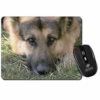German Shepherd Computer Mouse Mat Birthday Gift Idea