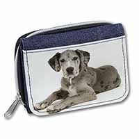 Great Dane Girls/Ladies Denim Purse Wallet Birthday Gift Idea