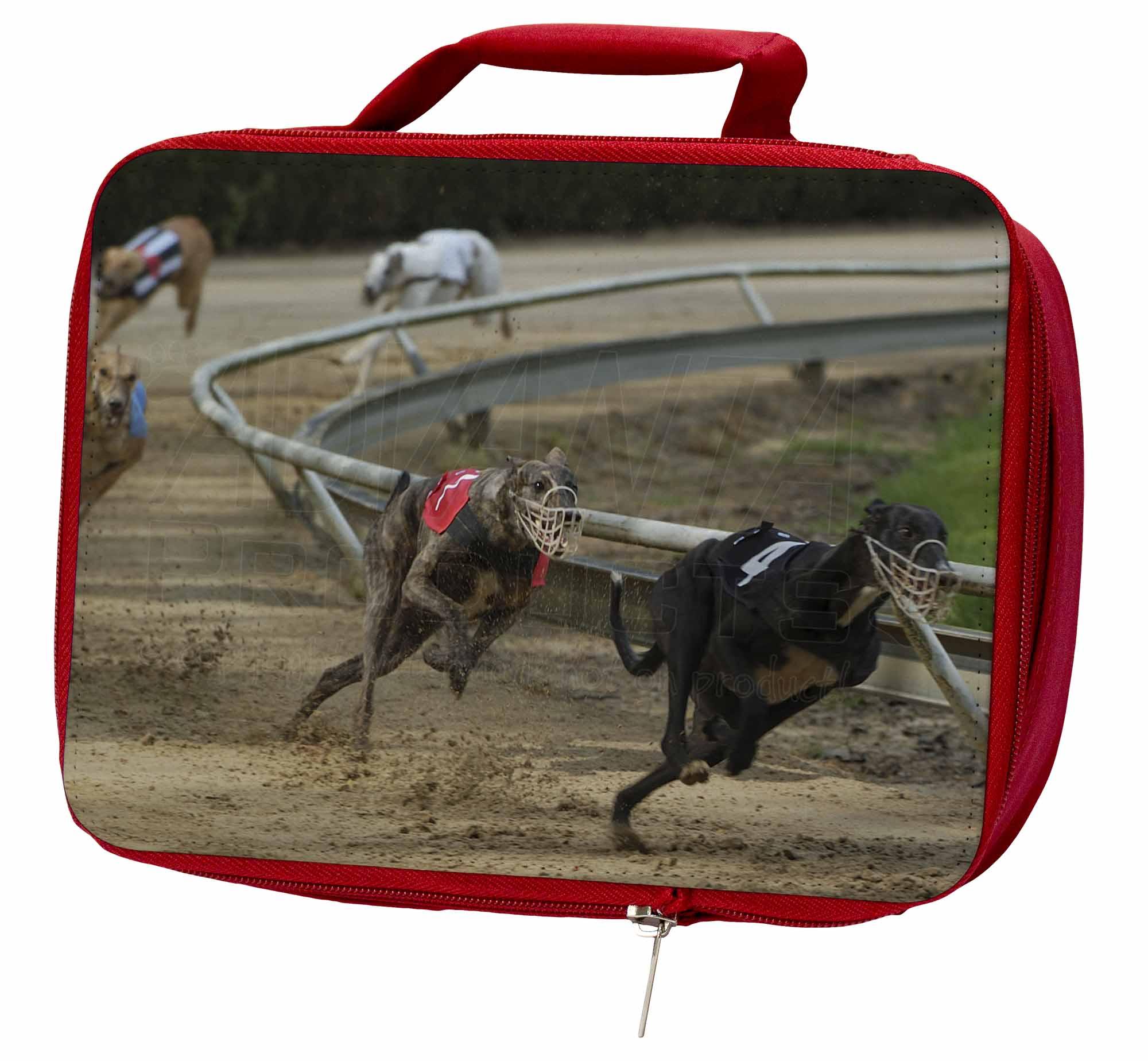 Greyhound Dog AD-GH1LBR Racing Insulated Red School Lunch Box/Picnic Bag, AD-GH1LBR Dog b53e30