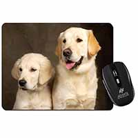 Golden Retrievers Computer Mouse Mat Birthday Gift Idea