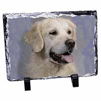 Golden Retriever Dog Photo Slate Photo Ornament Gift