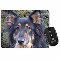 Tri-Colour German Shepherd Computer Mouse Mat Birthday Gift Idea