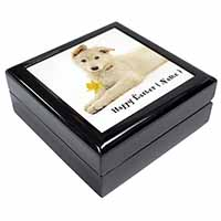 Personalised Name White Shepherd Keepsake/Jewel Box Birthday Gift Idea