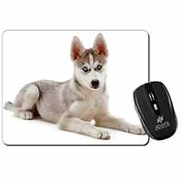 Siberian Husky Puppy Computer Mouse Mat Birthday Gift Idea