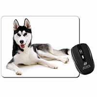 Siberian Husky Dog Computer Mouse Mat Birthday Gift Idea