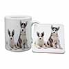 Siberian Huskies Mug+Coaster Christmas/Birthday Gift Idea