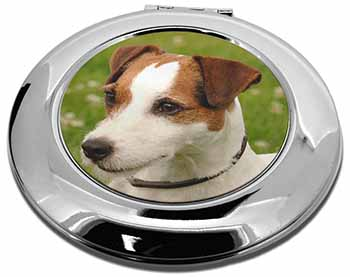 Jack Russell Terrier Dog Make-Up Round Compact Mirror Girly Gift