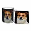 Jack Russell Terrier Dog Mug+Coaster Christmas/Birthday Gift Idea