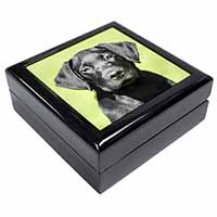 Black Labrador Puppy Keepsake/Jewel Box Birthday Gift Idea