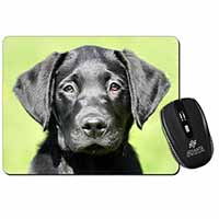 Black Labrador Puppy Computer Mouse Mat Birthday Gift Idea