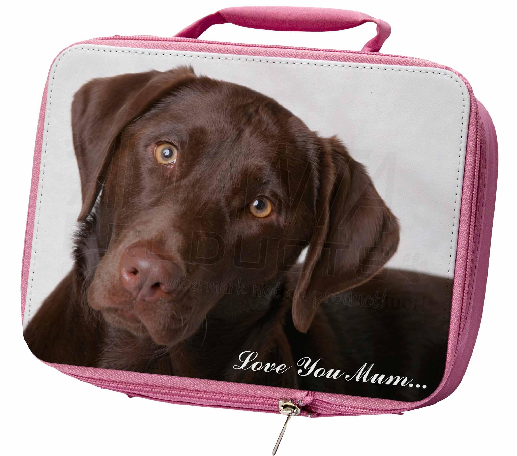 Cioccolato Labrador 'amore Che Te Mamma' Ermetica Rosa Porta Pranzo,ad-l32lymlbp Rosa-  - ebay.it