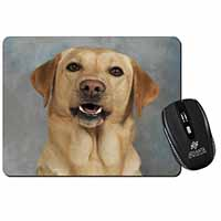 Yellow Labrador Computer Mouse Mat Birthday Gift Idea