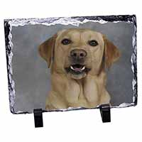 Yellow Labrador Photo Slate Christmas Gift Idea