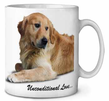 Golden Retriever-With Love Coffee/Tea Mug Gift Idea