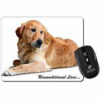 Golden Retriever-With Love Computer Mouse Mat Christmas Gift Idea