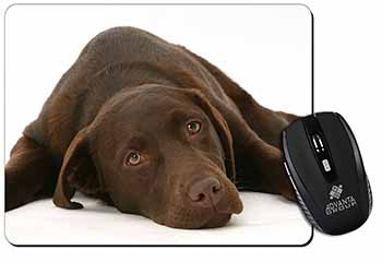 Chocolate Labrador Dog Computer Mouse Mat Birthday Gift Idea